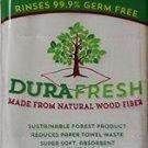 6  DuraFresh Antimicrobial Antibacterial Dish Cloth Wood Fiber Bacteria Fighting