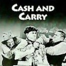 The Three Stooges CASH AND CARRY VHS Video Tape Plus 2 Extra Episodes Comedy