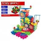 Krazy Gears Building Toy Kit Motorized Spinning Gear 81 Pieces Educational Crazy