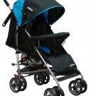 Stroller BLUE Baby Strollers BEBELOVE Lightweight Folding Recling seat Compact