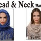 Head & Neck Warmer Neckerchief Warm Wrap  Winter USA Fashion Scarf Shawl Cold