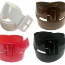 Wide Patent Leather Cinch Belt for Women Fashion Casual Gloss  Dress Office 2 IN