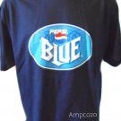 Pepsi Blue Logo Hanes Navy Blue T-Shirt XL New Old Stock Vintage Soda Cola Tee
