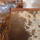 Real Leather Crossbody Purse Bag Handbag Messenger Sling Cow Hide All Different