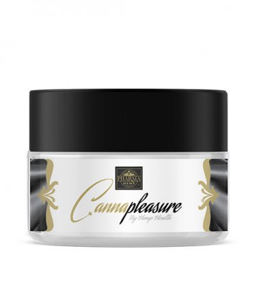 CannaPleasure Cannabis Lubricant THC Free Sex Massage All-Natural Tingling Hemp