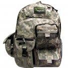 Digital ACU Camoflauge Backpack School Pack Bag Camo Hiking Rucksack Trekking
