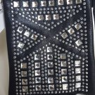 Cell Phone Bling Cross Body Bag Crystal Purse Handbag Small Messenger 4 Pocket