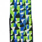 Geometric Colorful LEAF Republic Mens Fun Novelty Socks One Size Comfy Casual