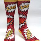 KAPOW KA - POW Comic Mens Novelty Socks Sox Casual Sz 7-13 Dress Funny Premium