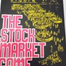 The Stock Market Game 1970 -The Avalon Hill Company VTG Family Bookcase Board