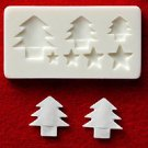 Miniature Christmas Tree - Sweet Deco - Floree Clay Mold