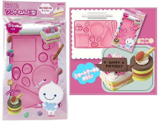 Educational clay tool : Flexible Clay mold - Sweets