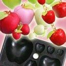 Clay Mold - fake Miniature Apple (A) - Fruit Series - Reusable