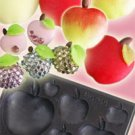 Clay Mold - Fake Miniature Apple (B) - Fruit Series - Reusable