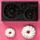 Clay Mold - Fake Miniature Doughnut (B)- Sweet Deco - Reusable