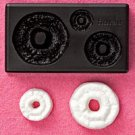 Clay Mold - Fake Miniature Doughnut (C)- Sweet Deco - Reusable