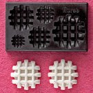 Clay Mold - Fake Miniature Waffle - Sweet Deco - Reusable