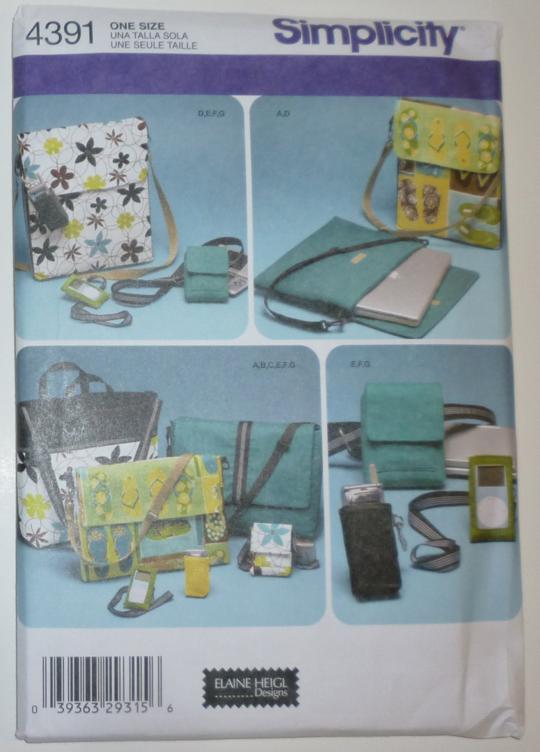 SEWING PATTERN - Bags and Accessories - # 4391