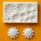 Clay Mold - Miniature Fake Sunflower - Sweet Deco Clay Art