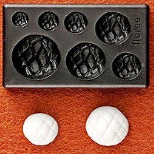 Clay Mold - Fake Miniature Melon Bread - Sweet Deco - Non Edible Food Art