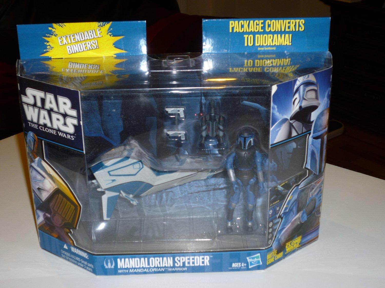 Star Wars The Clone Wars - Mandalorian Speeder