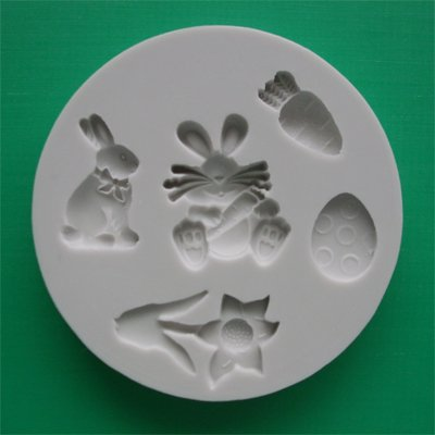 FOOD GRADE MOLD - The Easter Theme Design - Cake Decorating Mold - The Art of Cake Dressing - (01)