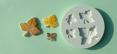 FOOD GRADE MOLD - The Maple Leaves Design - Cake Decorating Mold - The Art of Cake Dressing - (13)