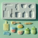 FOOD GRADE MOLD - Home Baking Theme Design - Cake Decorating Mold - The Art of Cake Dressing - (14)