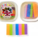 Clay Mold making Oyumaru (Multi color) / 1 pkg (7 pcs) - Make clay molds, using only hot water