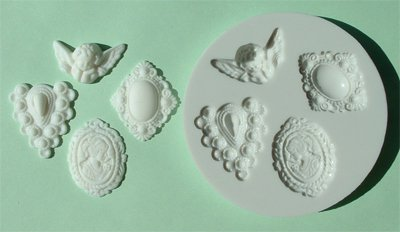 FOOD GRADE MOLD - The Classical Design - Cake Decorating Mold - The Art of Cake Dressing - (31)