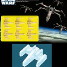 Silicone Mold - Star Wars Series - X-Wing - Ice, Coffee, Chocolate mold