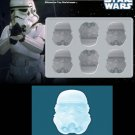Silicone Mold - Star Wars Series - Stormtrooper - Ice, Coffee, Chocolate mold
