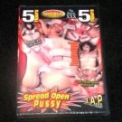 Spread Open Pussy Adult DVD- 5 hours