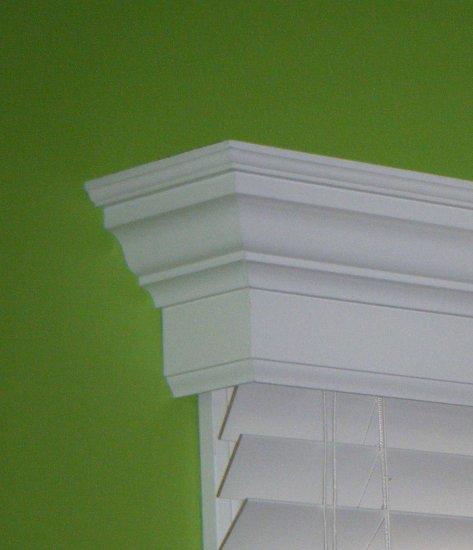 72 Inch Custom Window Valance Cornice Colonial Style