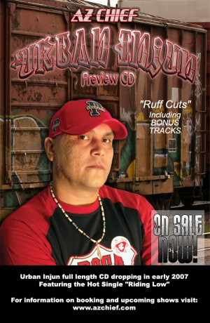 Ruff Cuts (Urban Injun Preview CD)
