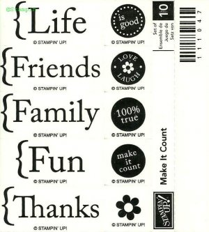 MAKE IT COUNT � STAMPIN' UP! � RETIRED