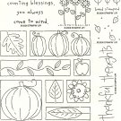 THOROUGHLY THANKFUL - STAMPIN' UP! - RETIRED 2006
