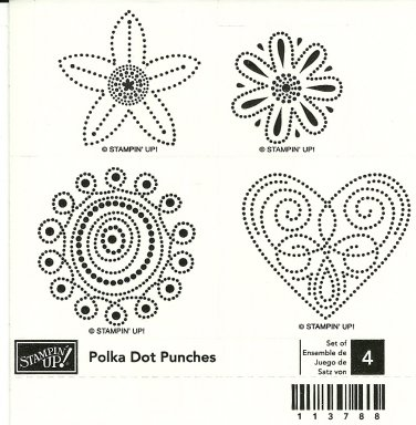 POLKA DOT PUNCHES STAMPIN' UP! � RETIRED
