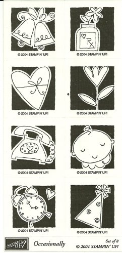 OCCASIONALLY - STAMPIN' UP! � 2004 RETIRED