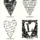 MON AMI - STAMPIN' UP! - 2004 Retired Set of 4 - NEW UNMOUNTED