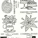 FUN & FAST NOTES - STAMPIN' UP! - Retired Set - UNMOUNTED NEW MPN 113500