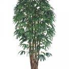 Set of 2 - 8' Artificial Raphis Palm Trees - lpr318-gr