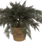 "37"""" Artificial Outdoor Spreading Juniper Plant (pot not included)- Set of 4 - a-081"