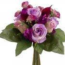 Silk Wedding Flowers Bouquet Set Of 6 - fbq370-lv