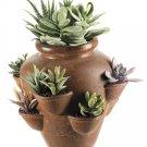 Artificial Cactus Garden in Terra Cotta Pot - lpc257-gr