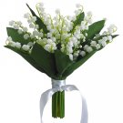 Silk Wedding Flowers Bouquet Set Of 6 - fbq121-cr