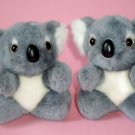 Koala Bears Plush Toys (2) ~ 12cm high, Post from Australia