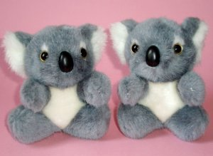 Koala Bears Plush Toys (2) ~ 12cm high, Post from Australia