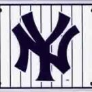 New York Yankees (Pinstripe) License Plate