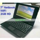 Netbook - 7-inch TFT LCD Laptop, UMPC - WiFi - 2GB Hard Disk - Windows CE 6.0